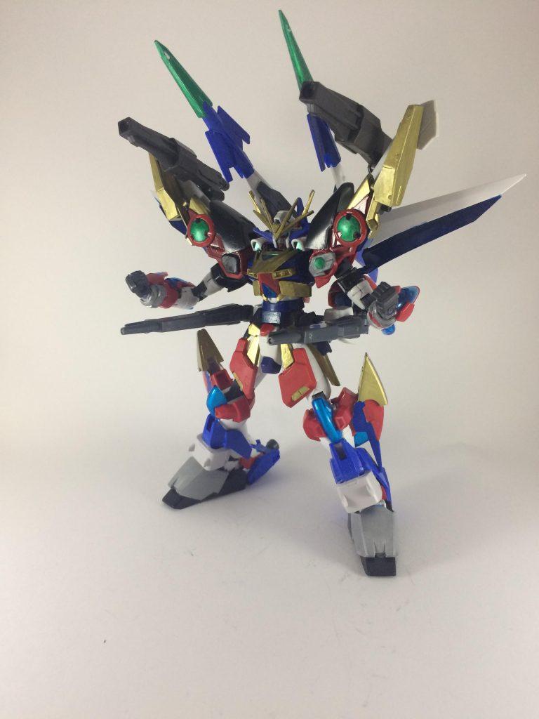 スーパーロボットガンプラ アピールショット3