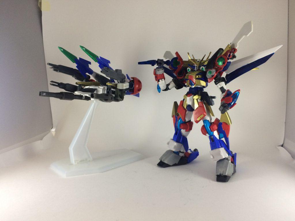 スーパーロボットガンプラ アピールショット1