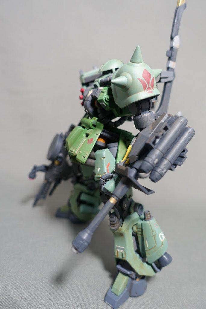 ザクI.B.O型(鉄血のザク) アピールショット4