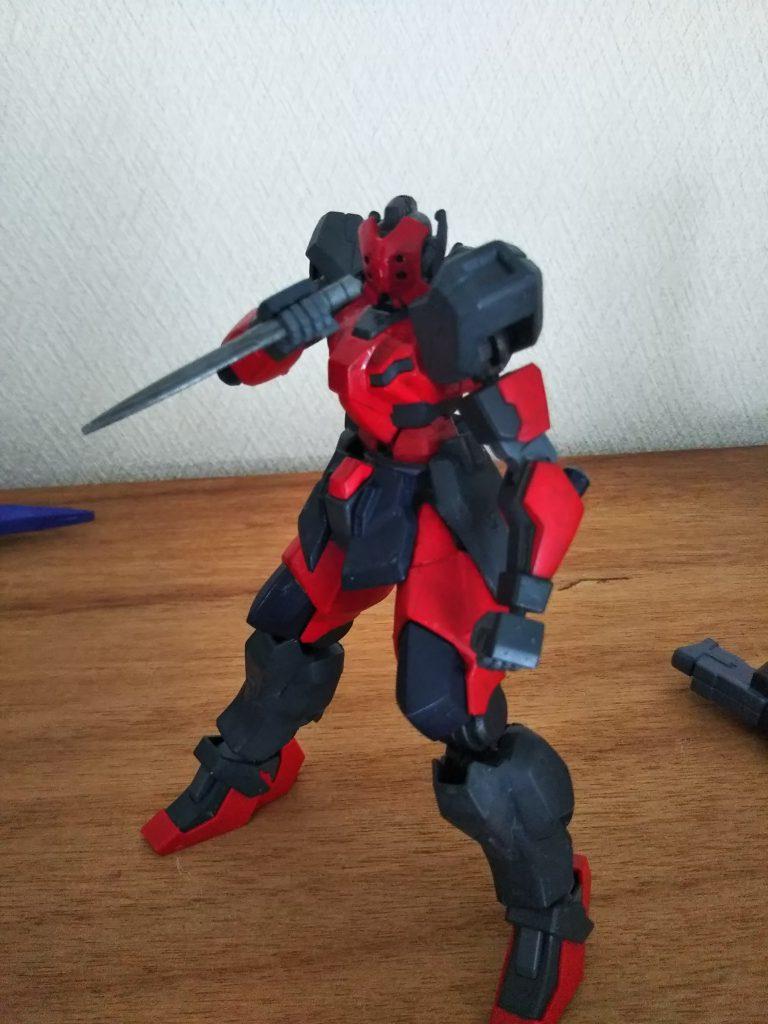 SPECTER YAEGER   Type Red shadow アピールショット3