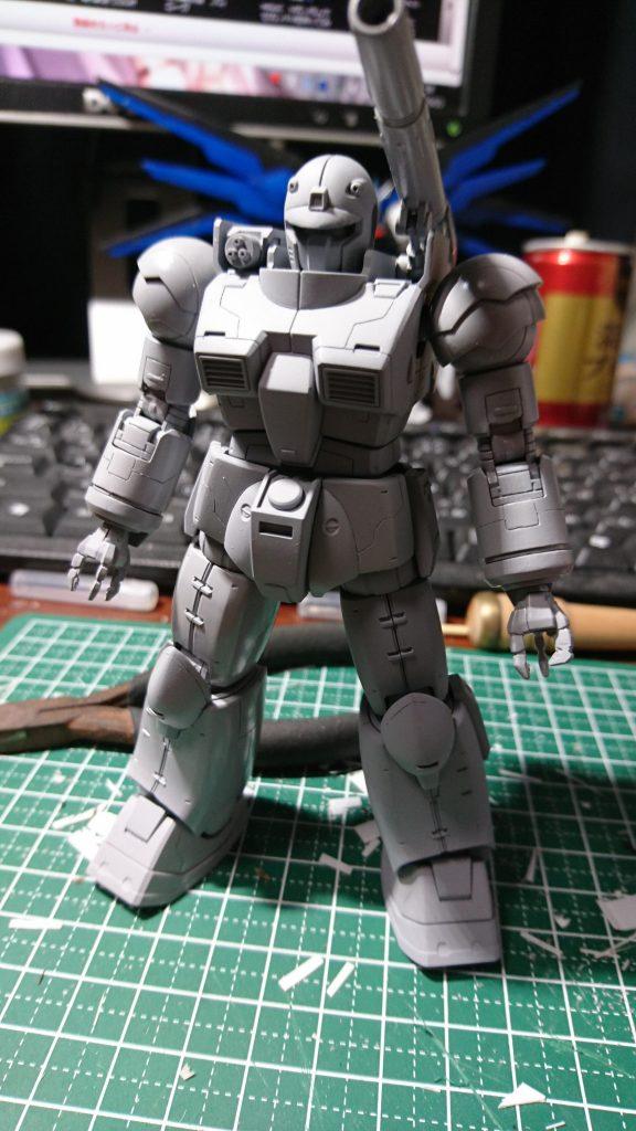 ガンキャノン初期型(再) 制作工程3