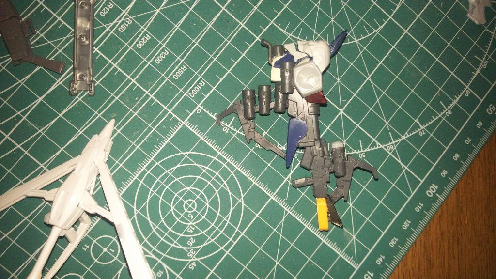 クロスボーンガンダムX0フルクロス 制作工程1