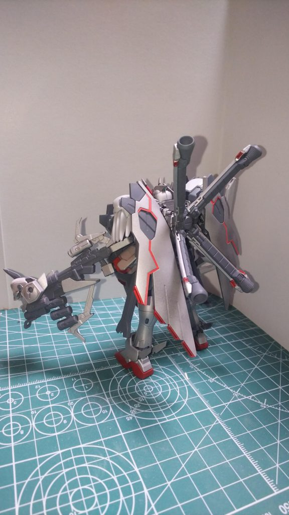 クロスボーンガンダムX0フルクロス アピールショット2