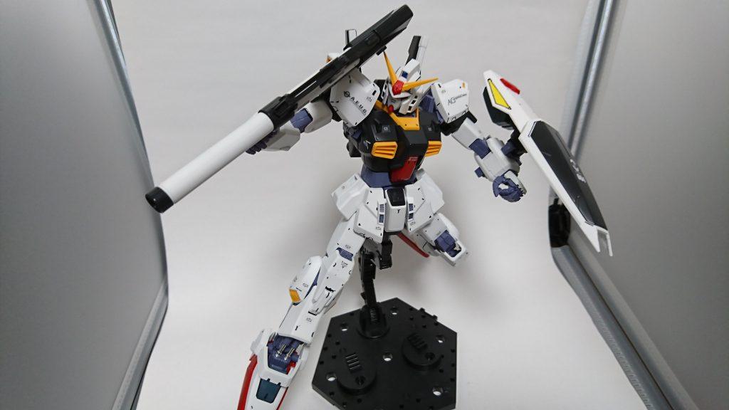 MG ガンダムMk-Ⅱ アピールショット1