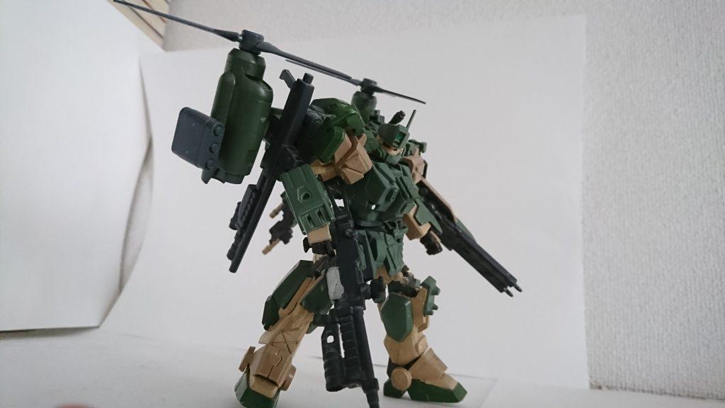 陸戦型ガンダム改【コード・デルタ】 アピールショット3