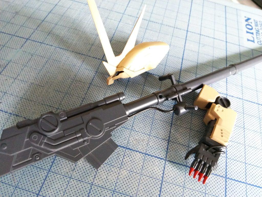プロト・ガルスS(中距離支援装備) 制作工程2