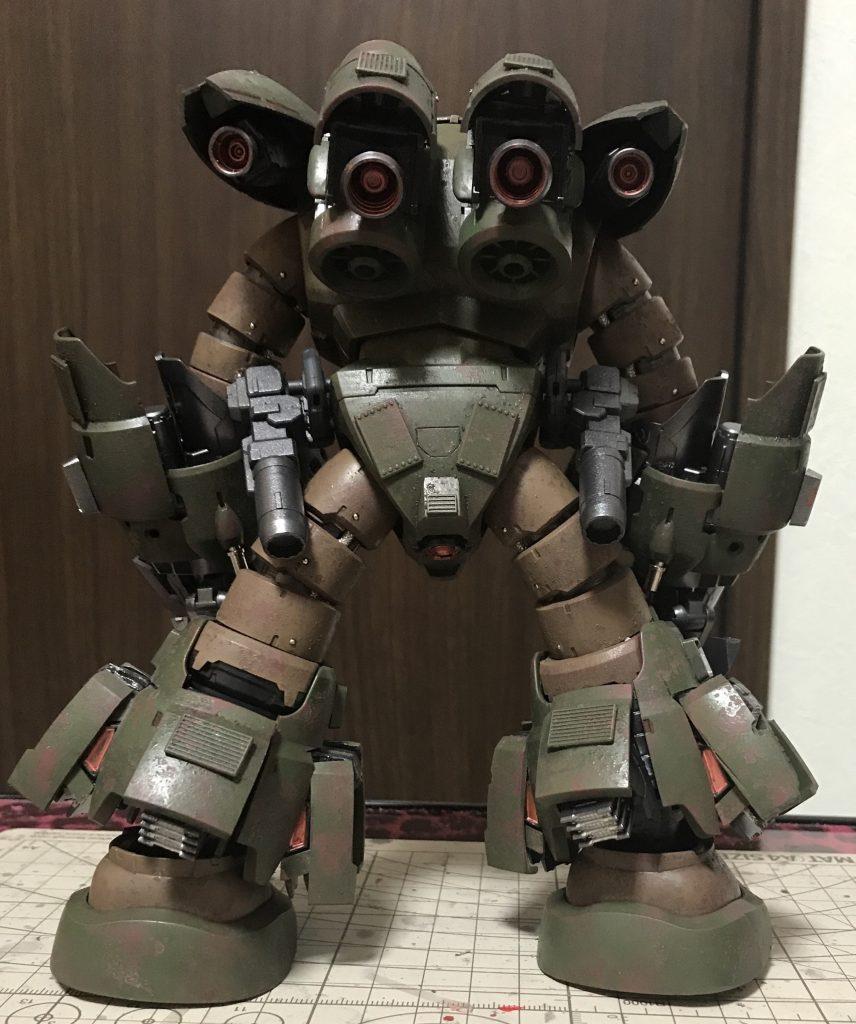 ズゴック改(陸戦強化型) 制作工程6
