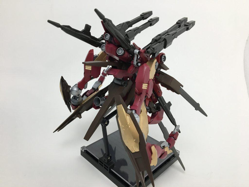 グレイズ改改 焔星号 制作工程4
