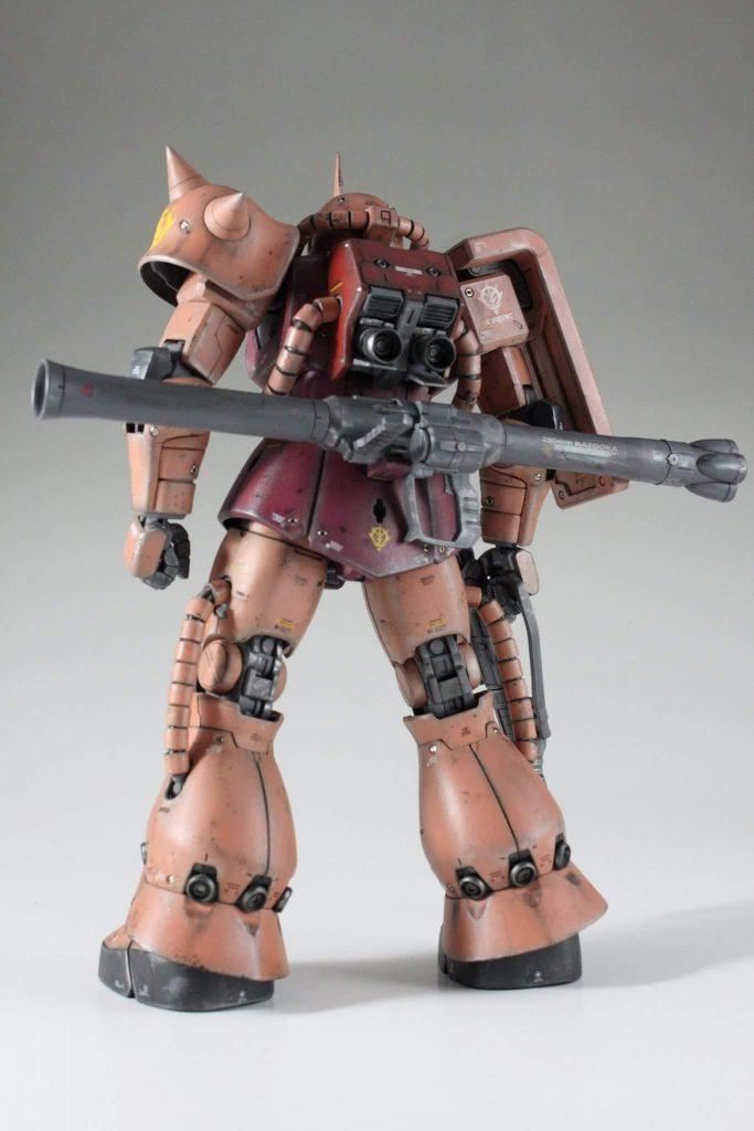 MG シャア ザク 2.0 アピールショット1