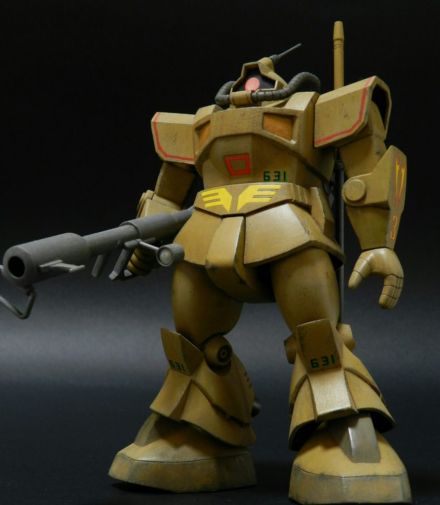 YMS-09 DOM TROPICAL TEST TYPE
