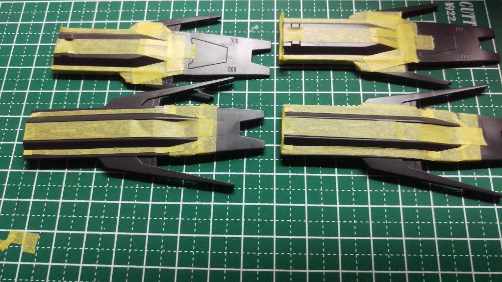 HGIBO1/144 ガンダム・ヴィダール(オリジナルカラー) 制作工程2
