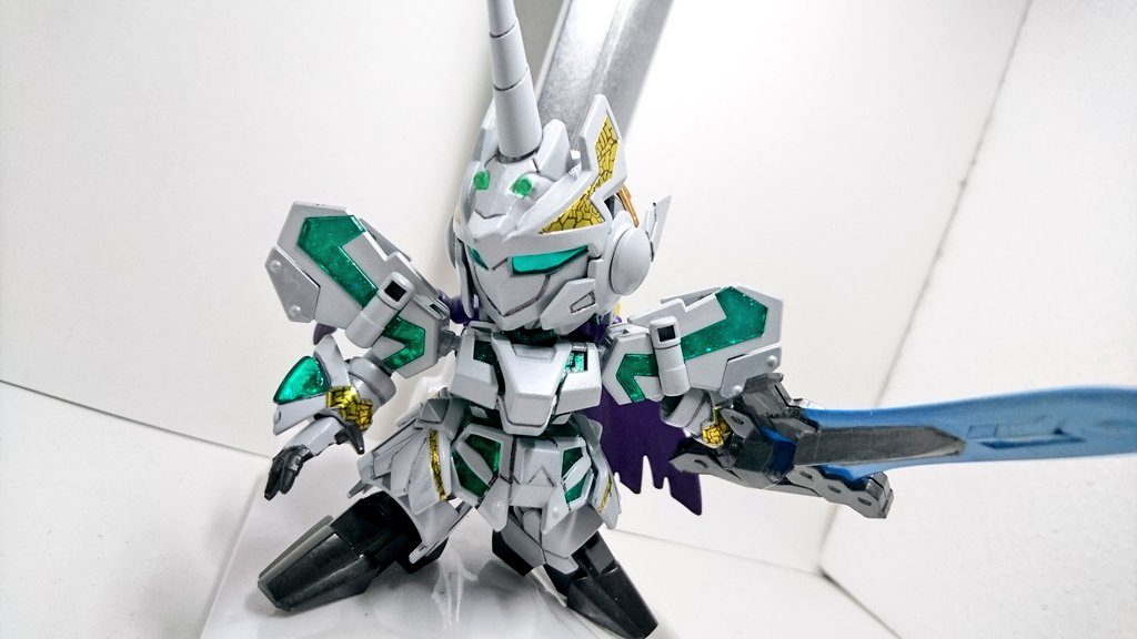 LEGENDBB「騎士ユニコーン」 アピールショット3
