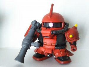 SD ザクⅡ ジョニーライデン専用機