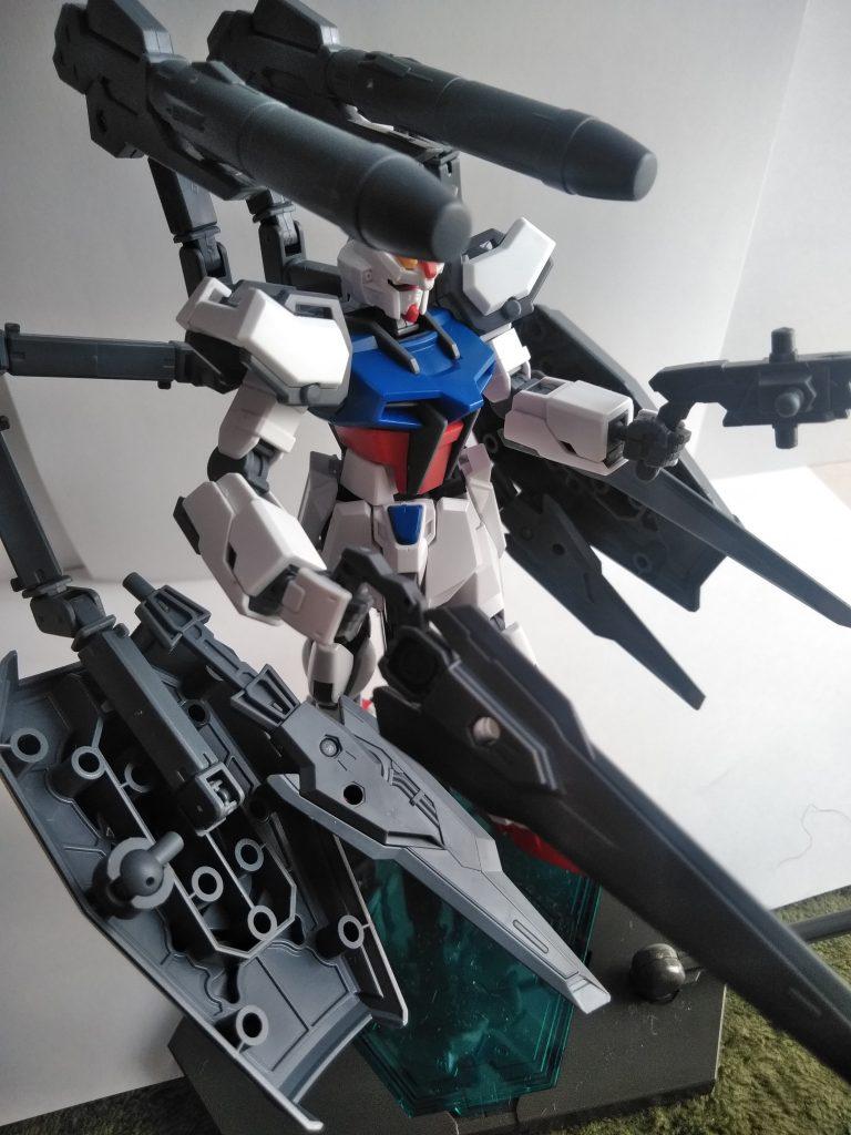 アイアストライク・ガンダム アピールショット4