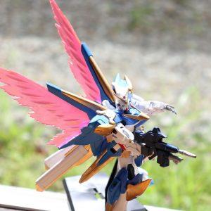 HGUCアサルトバスター、光の翼(´ω`)