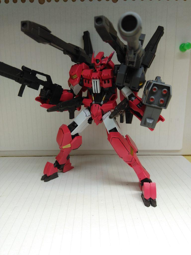 HG ガンダムフラウロス アピールショット3