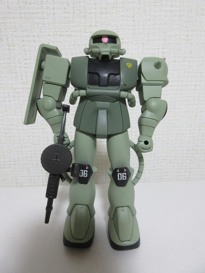 ベストメカコレクション 量産型ザク 【再投稿】 アピールショット1