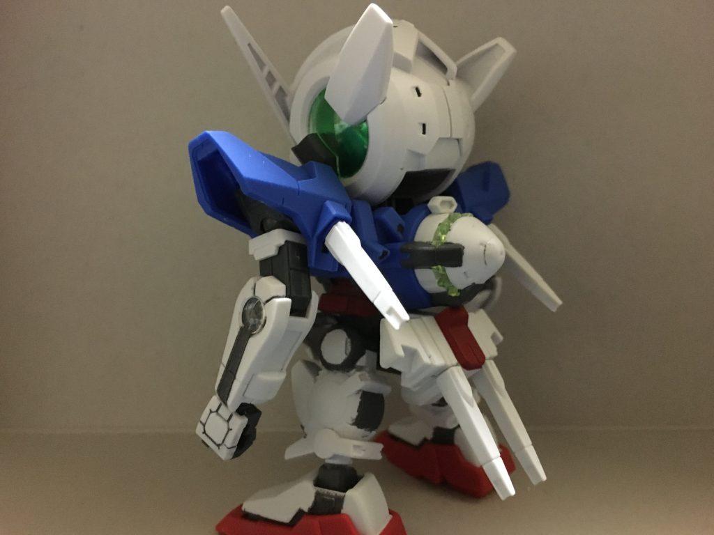 BB戦士ガンダムエクシア奇形 アピールショット1