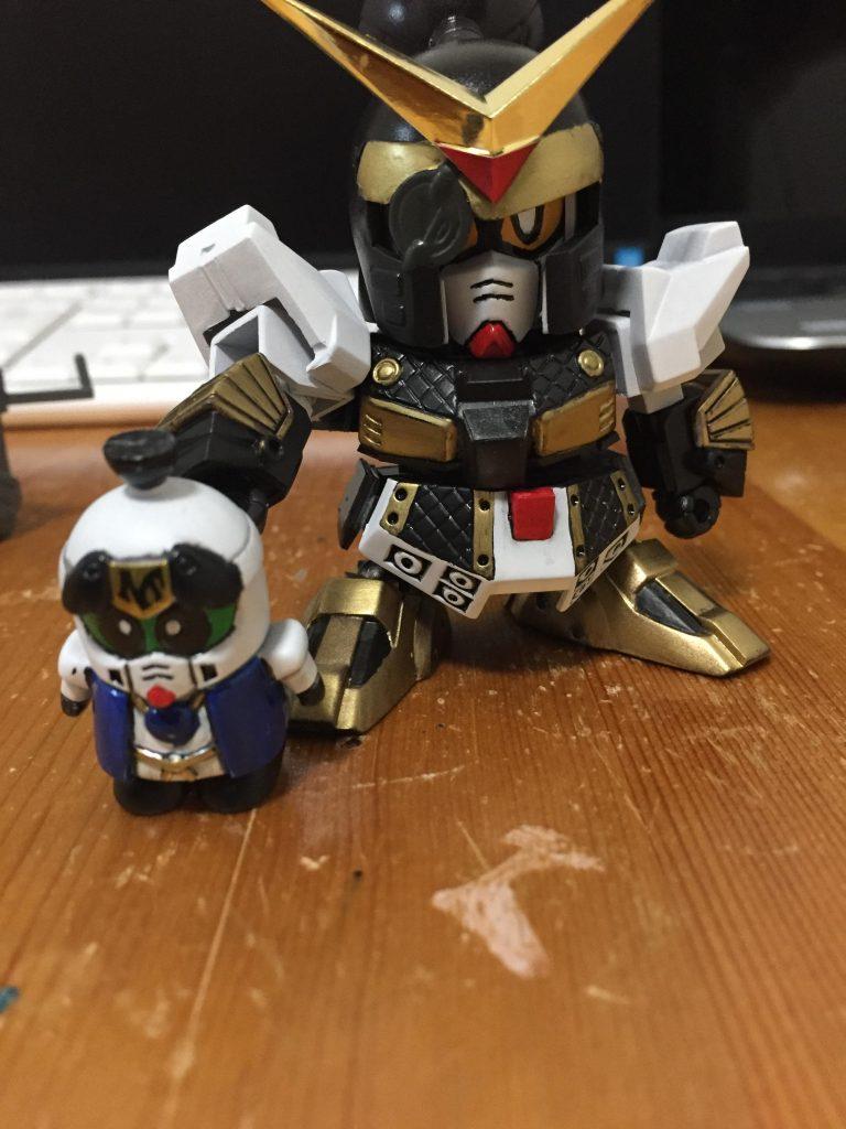祝!!GUNSTA様の再開!!BB戦士 柳生農兵衛と荒五郎 アピールショット3