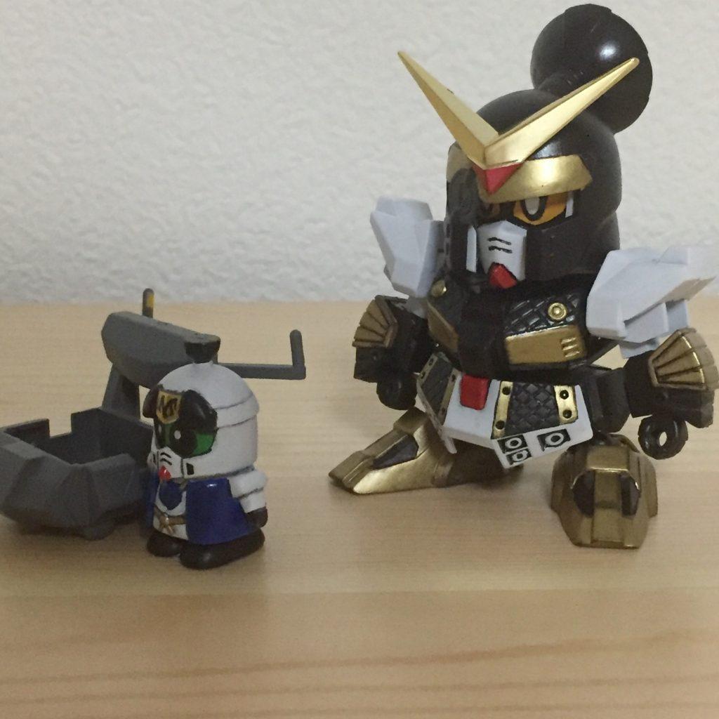 祝!!GUNSTA様の再開!!BB戦士 柳生農兵衛と荒五郎 アピールショット4