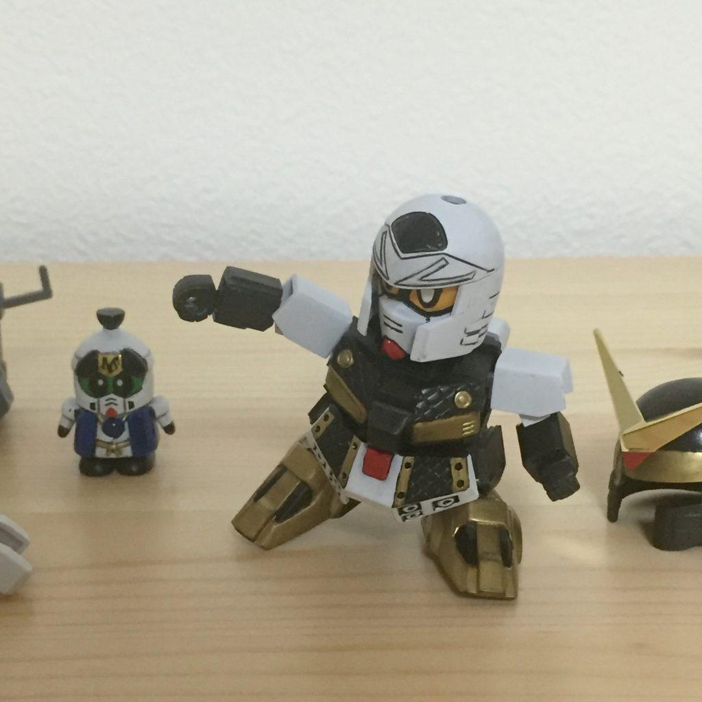 祝!!GUNSTA様の再開!!BB戦士 柳生農兵衛と荒五郎 アピールショット1