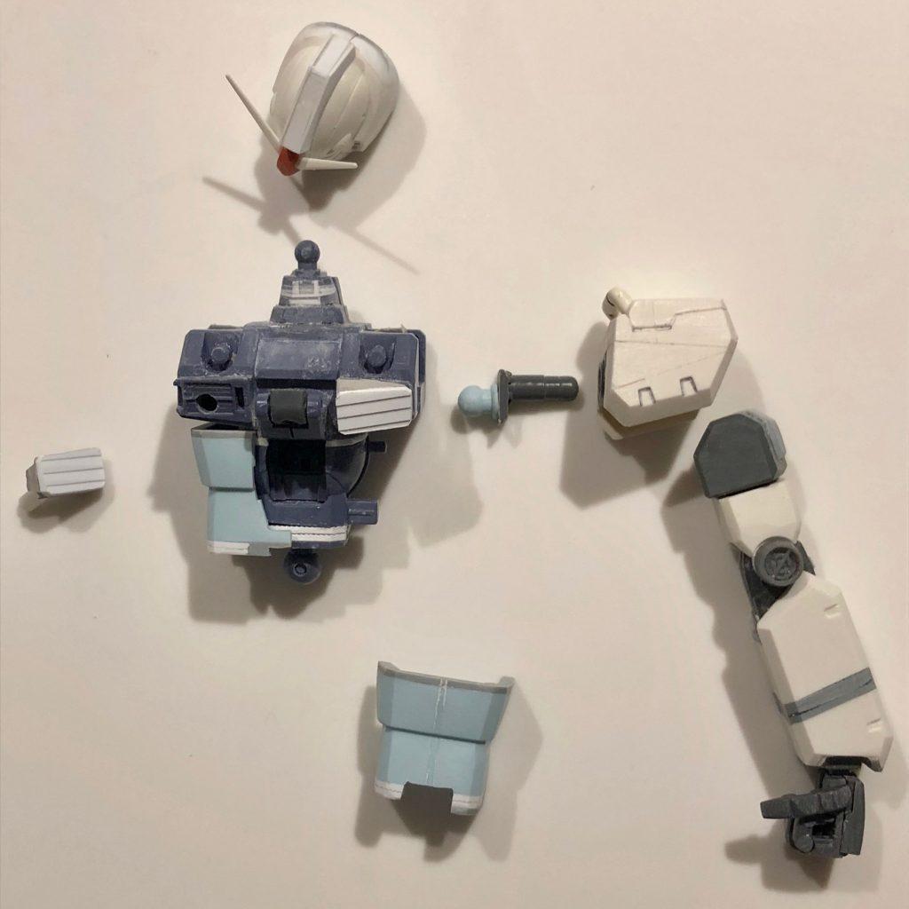 MG改造 1/100 RX-78 ガンダム ver.ka 制作工程3