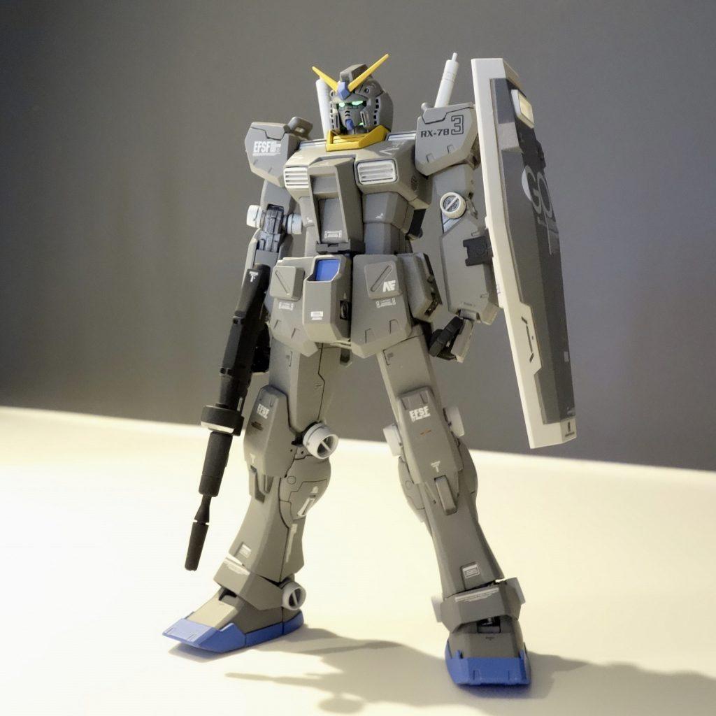 MG改造 1/100 RX-78 ガンダム ver.ka アピールショット2