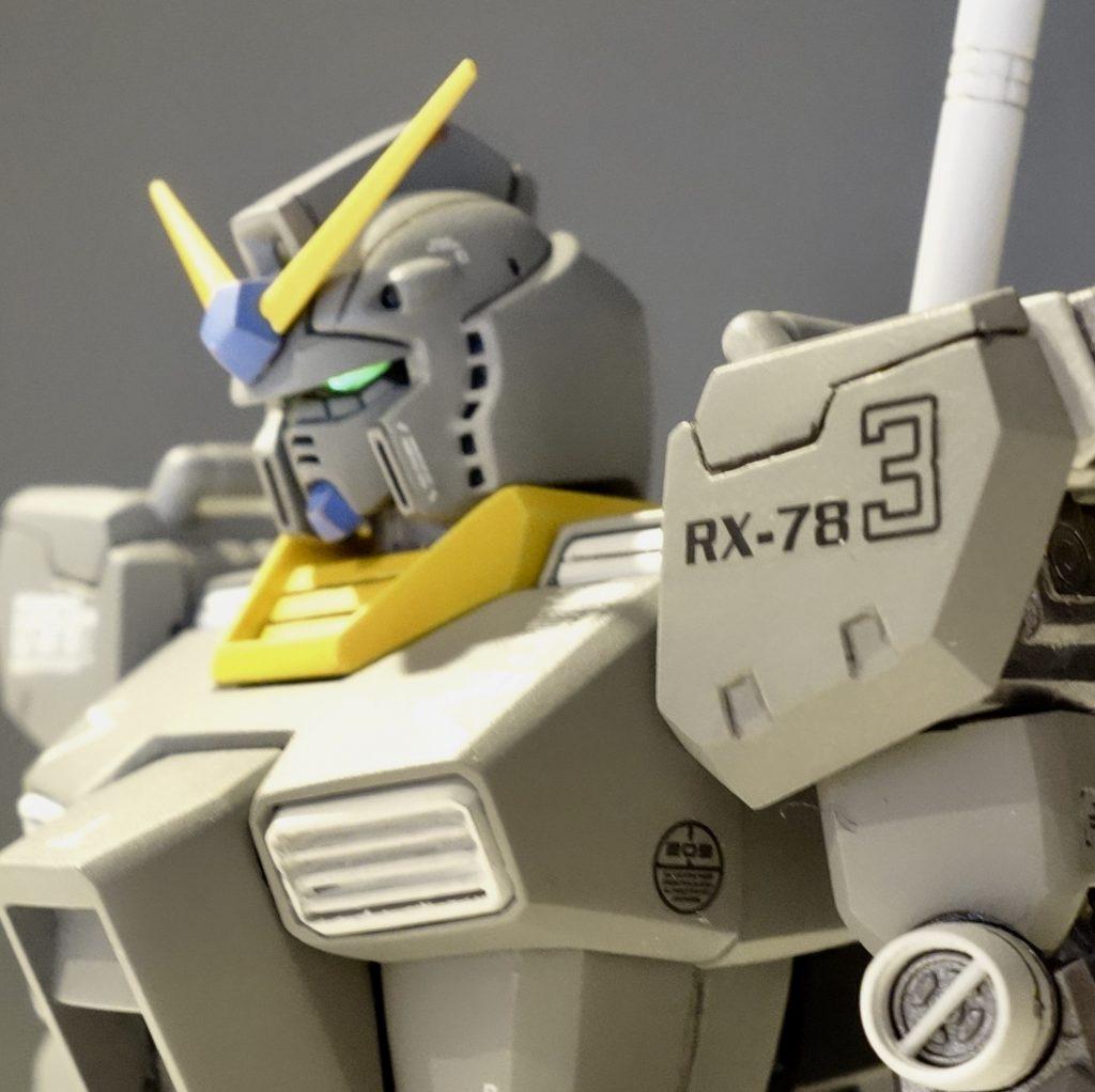 MG改造 1/100 RX-78 ガンダム ver.ka アピールショット1
