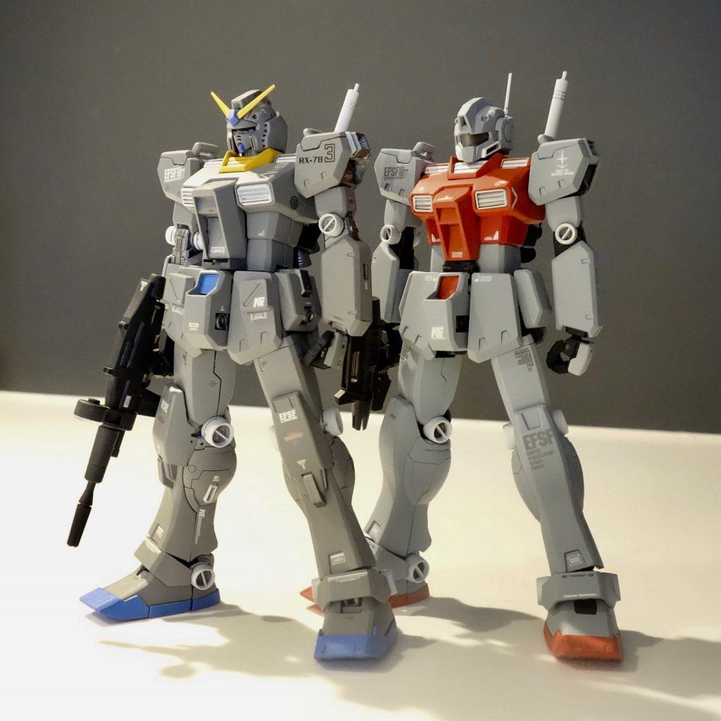 MG改造 1/100 RX-78 ガンダム ver.ka アピールショット4
