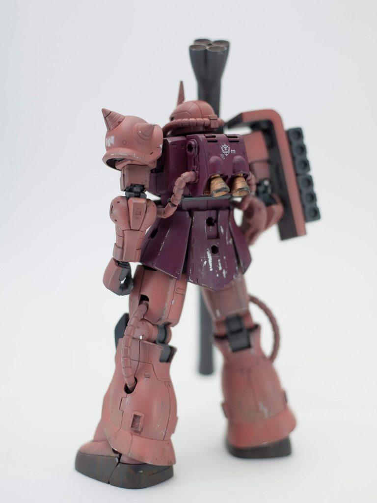 シャア専用ザク(地上戦仕様) アピールショット1