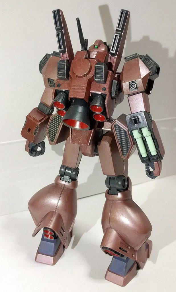 ジェガン総合強化型(レッドローズ) アピールショット2