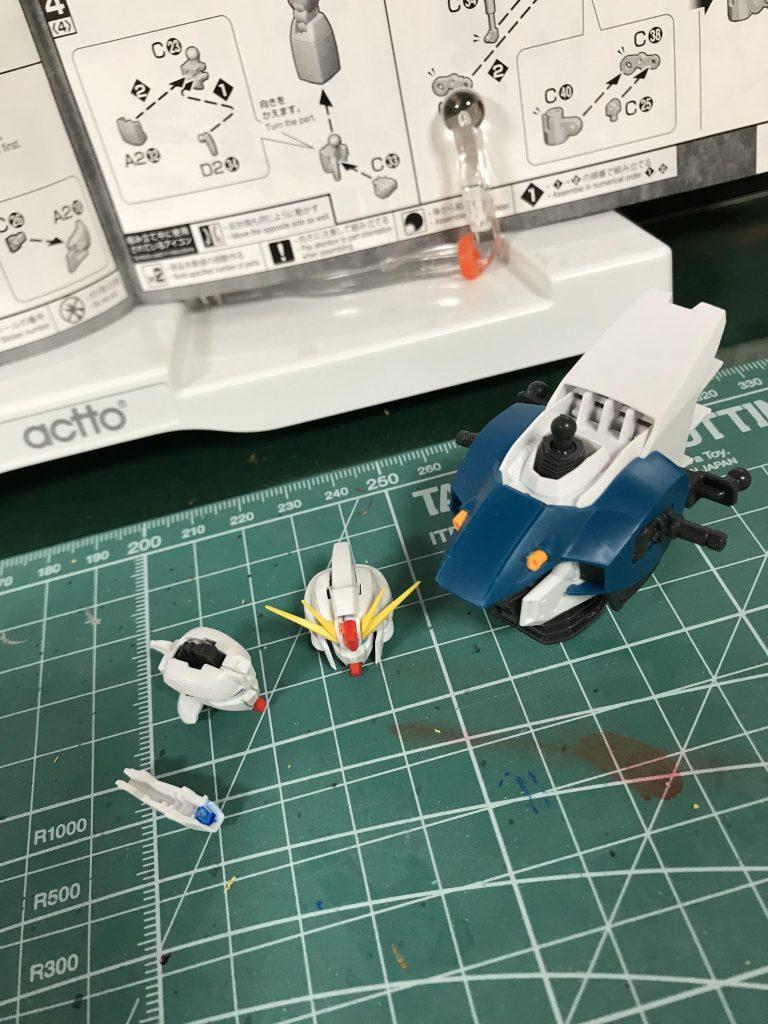 MG F91 制作工程2