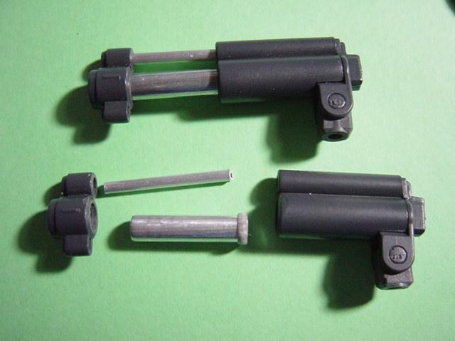 HGUC ガンキャノン量産型 制作工程4