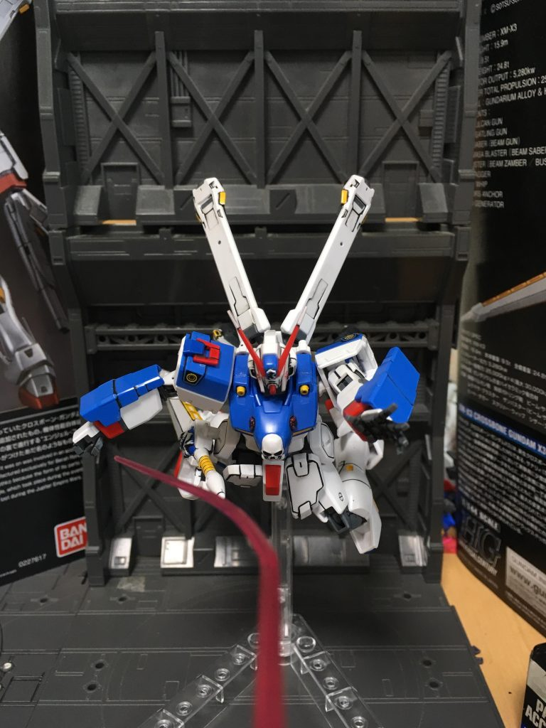 クロスボーンガンダムX3 アピールショット1