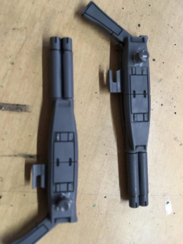 クロスボーンガンダムX0 制作工程2