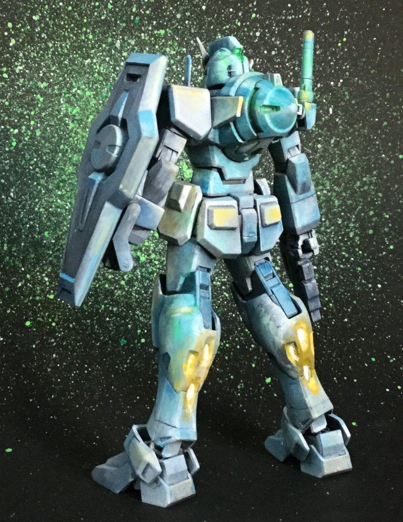HG 0ガンダム アピールショット5