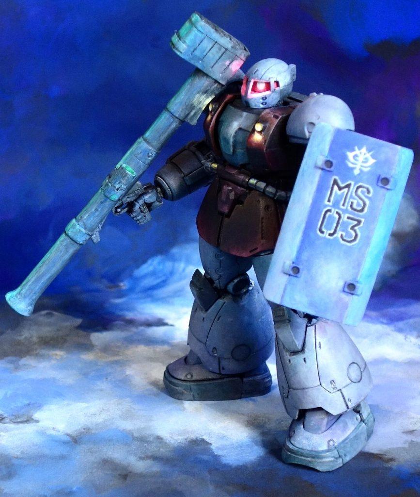 MS-03 ヴァッフ アピールショット2