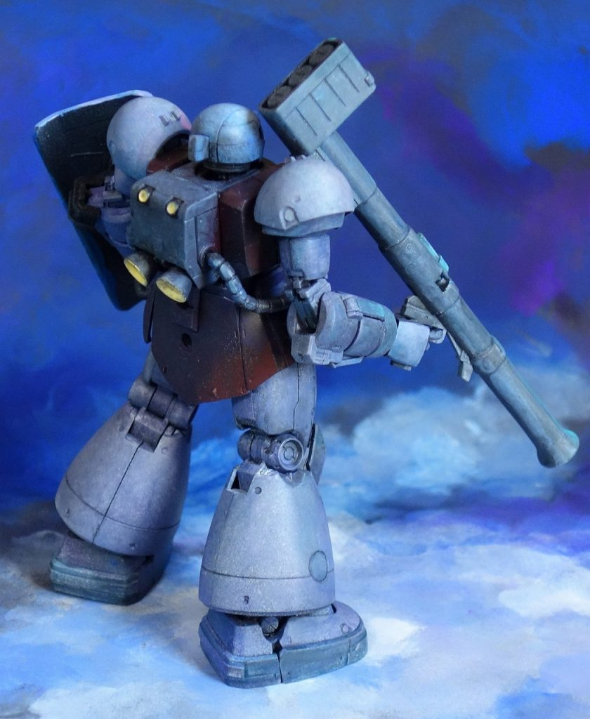 MS-03 ヴァッフ アピールショット4
