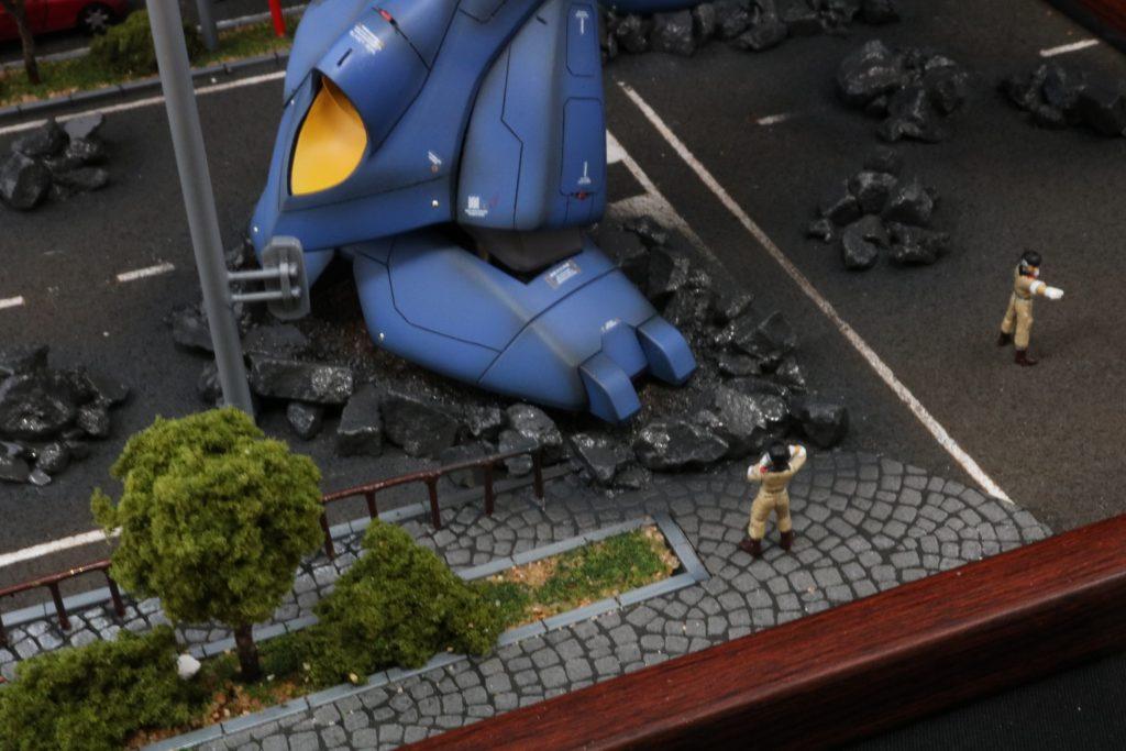 機動戦士ガンダム0080 ポケットの中の戦争 ケンプファー強襲  制作工程2