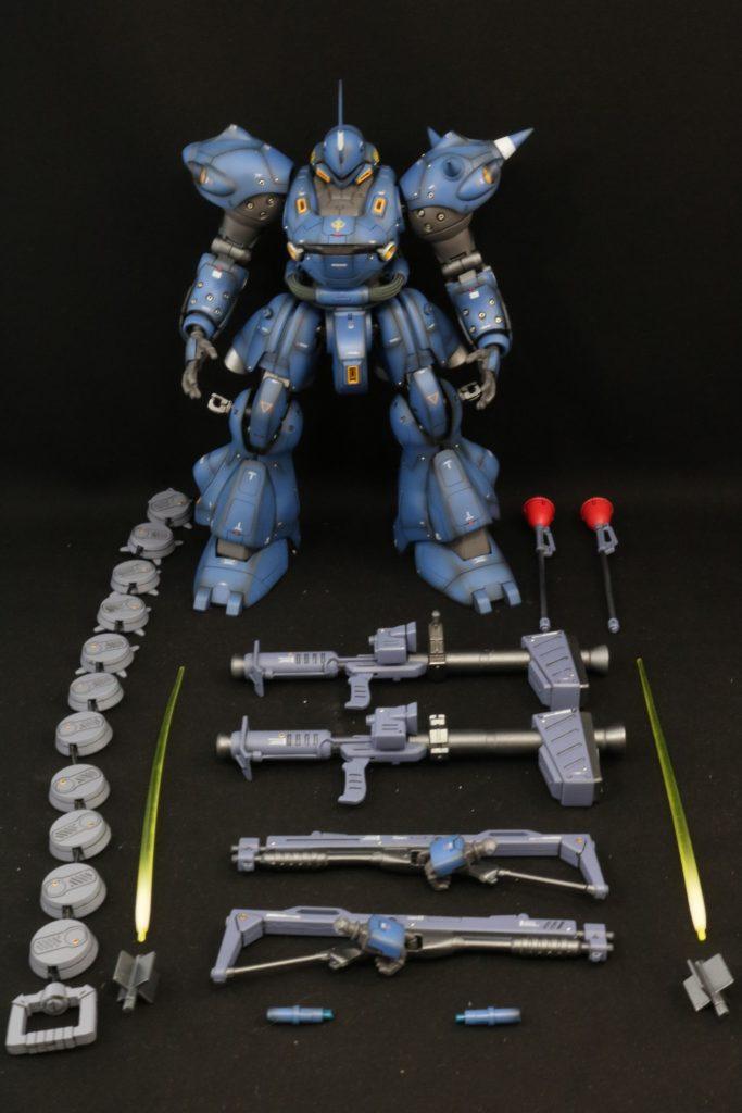 機動戦士ガンダム0080 ポケットの中の戦争 ケンプファー強襲  制作工程4