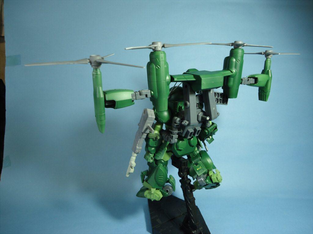 1/35 グリモワールドッグ・フライトタイプ(Grimoire Dog・Flight Type) アピールショット1