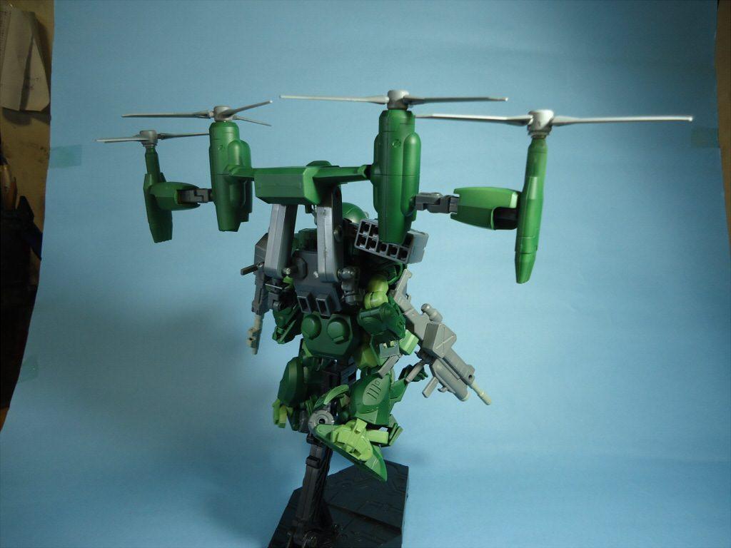 1/35 グリモワールドッグ・フライトタイプ(Grimoire Dog・Flight Type) アピールショット2