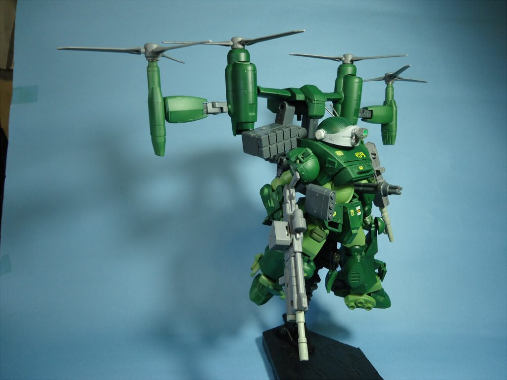 1/35 グリモワールドッグ・フライトタイプ(Grimoire Dog・Flight Type) アピールショット3