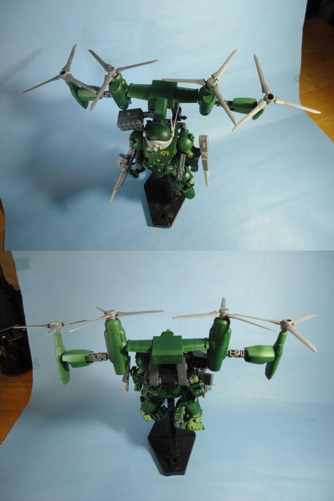 1/35 グリモワールドッグ・フライトタイプ(Grimoire Dog・Flight Type) アピールショット5