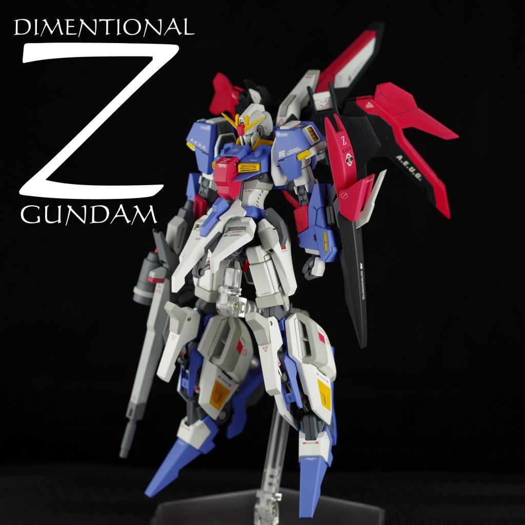 DIMENTIONAL ZETA GUNDAM (藤田版homage Ver.)