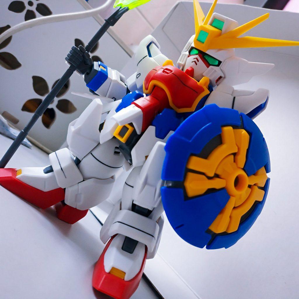 SD Shenlong Gundam アピールショット1