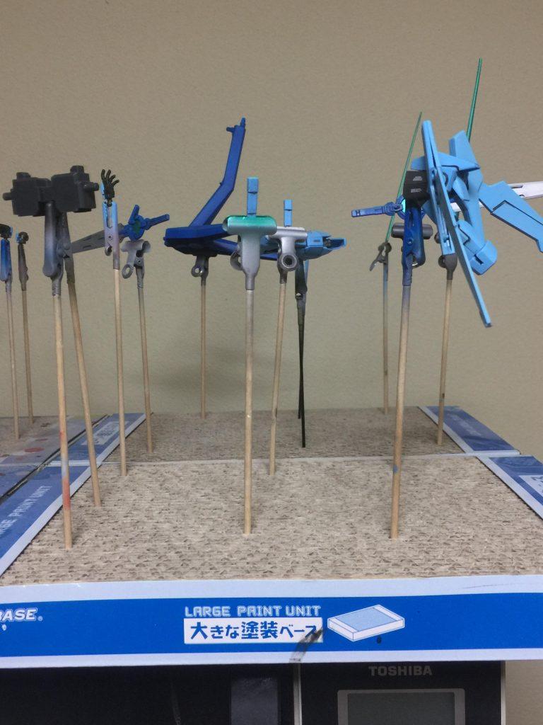 ガンダムAGE-2特務隊仕様(シグレ・トウガ専用機) 制作工程3
