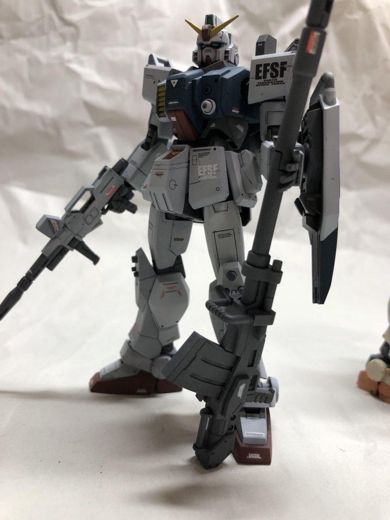 HG陸戦型ガンダム アピールショット2