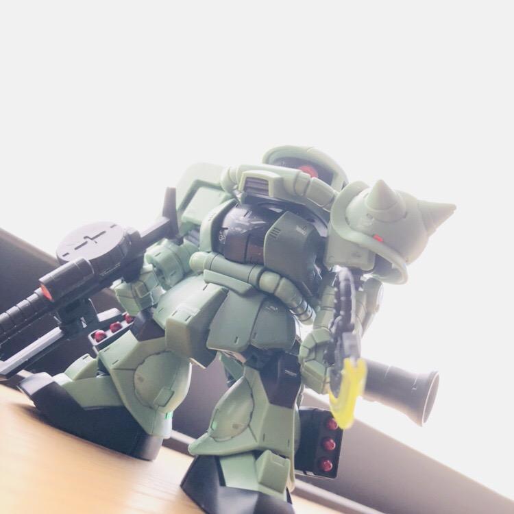 CS ザクⅡ (SDフレーム)