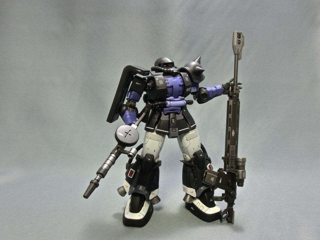 HG オリジン版黒い三連星ザクⅡ